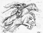 For Winterfell - Pencils by timwann