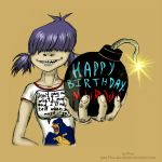 Happy_birthday,Murdoc.Bomb by Flive-aka-Nailan