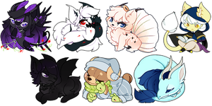 Commissions: Chibi Batch by OMGProductions