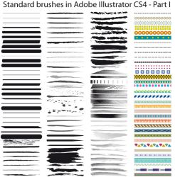 Standard brushes CS4 - Part I by Possy73