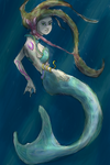 Mermaid on the iPhone by the0phrastus