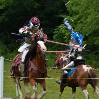 Jousting Knights by 5bodyblade