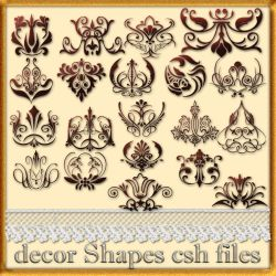 decor Shapes csh by roula33
