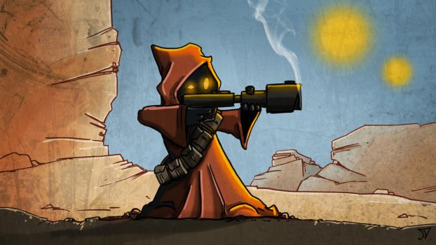 Jawa - 2D Cartoon illustration by Jason-Venus