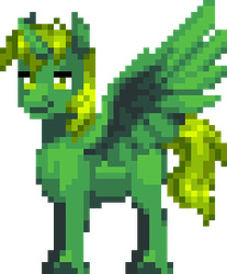 Green Thunder (ManeQuest version) by blaa6