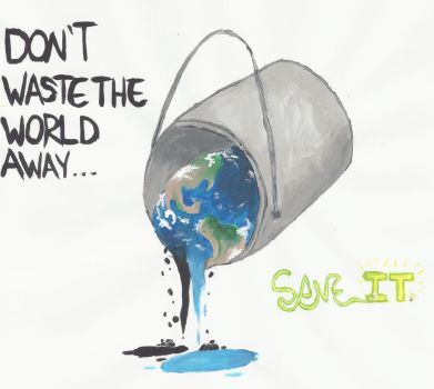 Don't Waste the World by Novern