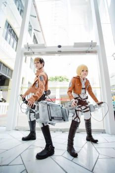 Armin Alert and Jean Kirschstein by AdelleAixe