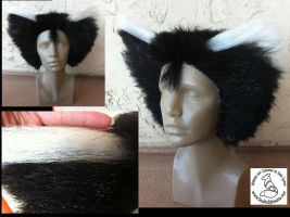 Sparkly Mistoffelees Wig by theassassinnox