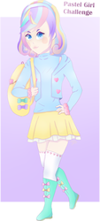 Pastel Girl Challenge (+Speedpaint) by Cylops2000