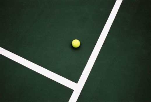 Tennis Court's Lines - Ball by Lips16