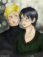 Drarry - Strange and Beautiful by yuuyami-artist