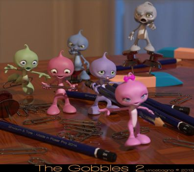The Gobbles 2 by vincebagna