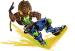 Lucio - Overwatch by Mr-VCR