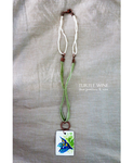 Fresh [ handmade necklace hand painted pendant ] by ThalassaNord