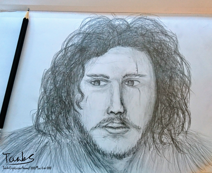 Jon Snow - Game of Thrones by 000master000