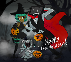 Happy Halloween! by spadillelicious