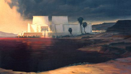 Prince of Egypt, River to Blood by NathanFowkesArt
