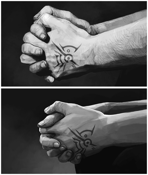 DH: Hands by coupleofkooks