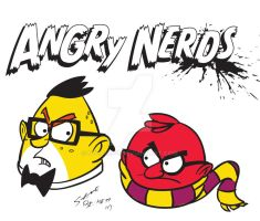 Angry Nerds by Steve3po