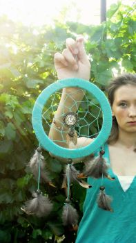 MINT dreamcatcher by birdtiutiu