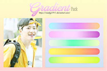 GRADIENT Pack 2 by Xioelgji1911