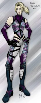 Nina Williams by Enkida