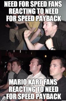 Mario Kart Vs Need For Speed Part 2 by CarreraX