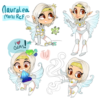 Fairy Ref Sheet comm by temporaryWizard