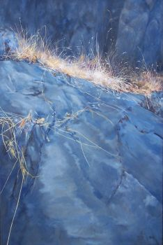 Natures Rockery - Oil Painting by AstridBruning