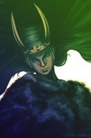 Lady Loki by LitYousei