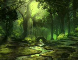 Forest by d1eselx