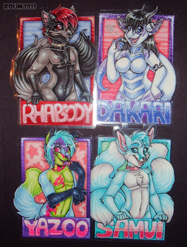 AC 2012 Bust Badges by Roum