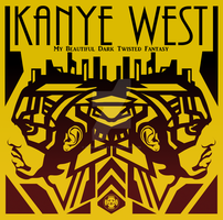 Original Kanye West Album Cover by SeedofSmiley