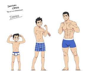 age progression: Damien Hawke by SNEEDHAM507