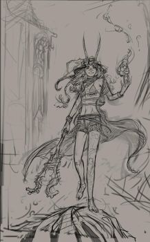Witch early concept by saint-max