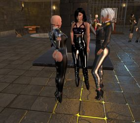 Mistress Jenny and Diomita with slave kelly (21) by DiomitaMaurer