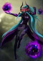[Riot Game Competition] Syndra by AutumnRaineLifez