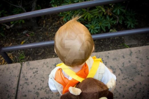 The back of my sons head by JustinShoots
