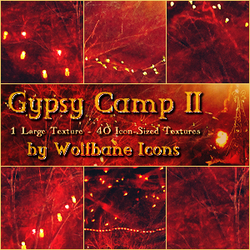 Gypsy Camp 2 Texture Set by jordannamorgan