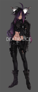 [ Adoptable ] Auction: Female 5 ( CLOSED ) by deathALICE
