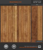 Wood Pattern 4 by Sed-rah-Stock