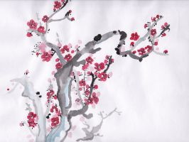 Plum Blossom 2 by HGManiac15