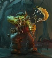Goblin Slugthrower by Elderscroller