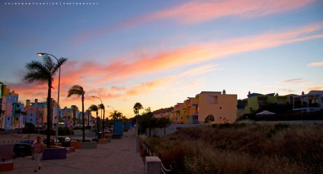 Algarve Sunset by Val-Faustino