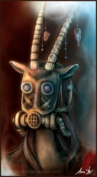 Antelope Mask by Chalitto