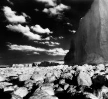 Birling Gap in Infrared by Mohain