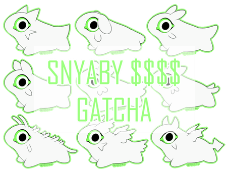 Snyaby Cash Gatcha! (currently CLOSED) by Queijac
