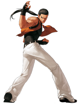 King Of Fighters XII Robert Garcia by hes6789