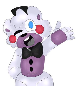 Fnaf Pizza game mascot by NekoSugarStar
