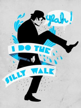 Silly walk by mathiole